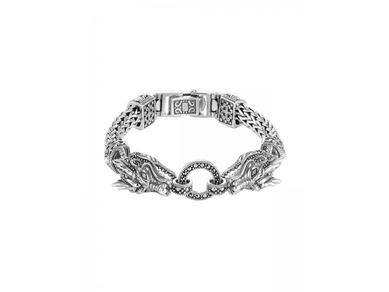 Серебряное Браслет арт. BR0868 Марказит Swarovski