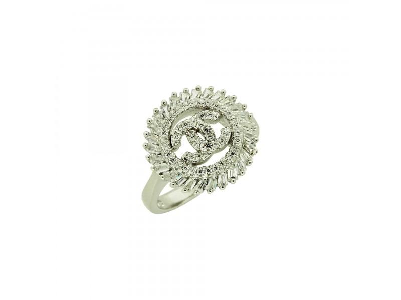 Серебряное Кольцо арт. 10258 Фианит