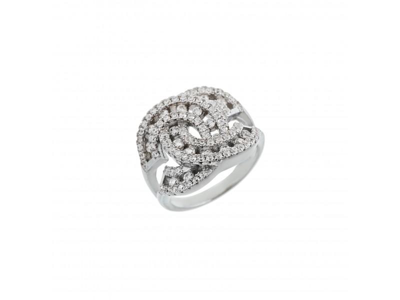 Серебряное Кольцо арт. 10394 Фианит