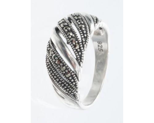 Серебряное Кольцо арт. HR1467 Марказит Swarovski