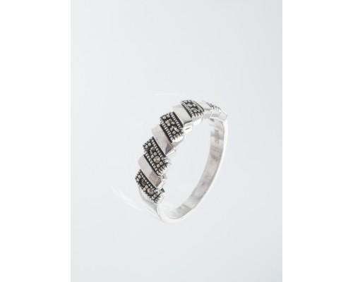 Серебряное Кольцо арт. HR1583 Марказит Swarovski