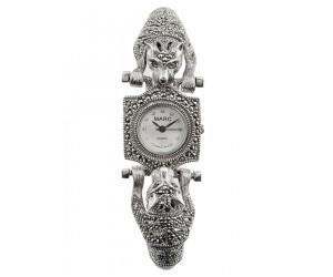 Часы арт. HW008 Марказит Swarovski, Гранат