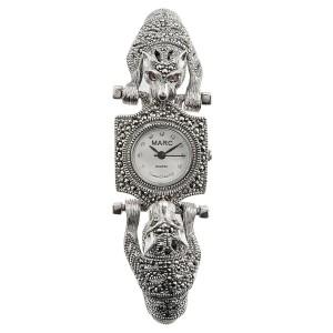 Часы арт. HW008 Марказит Swarovski, Гранат, Фианит